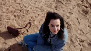 """Sophie Kirk on Twitter: """"I do miss London sometimes but greatly enjoying my  Lincolnshire life which involves sitting on the beach regularly and wearing  double denim - I don't why the latter"""