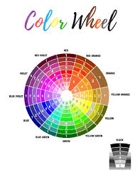 Color Wheel Chart Color Wheel Chart Sexy Storm