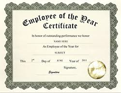 Employee Of The Year Certificate Template Free Geographics Certificates Free Word Templates Clip Art