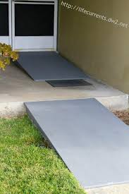 how to build a ramp over stairs wheelchair accessible ramps for the home how to build