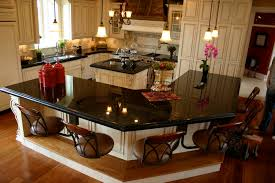 Granite With Cream Cabinets Cream Kitchen Cabinets With Marble Quicuacom