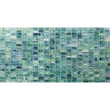 breeze caribbean ocean stained glass mosaic floor and wall