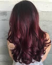 50 Shades Of Burgundy Hair Color Dark Maroon Red Wine