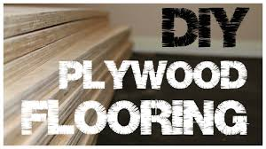 plywood flooring an inexpensive alternative to hardwood floors 1 you