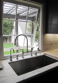 deep kitchen sinks 12 inch deep undermount kitchen sink window over shrink faucets