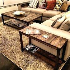 rustic farmhouse end tables rustic coffee