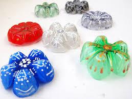 Decorated Plastic Bottles Plastic Bottle Snowflakes DIY Handmade Christmas Decorations 46