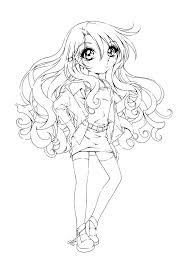 Interesting Goth Coloring Pages Free Coloring Pages Of Anime Dark