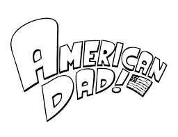 Small Picture American Dad Coloring Pages Family Potrait American Dad Coloring