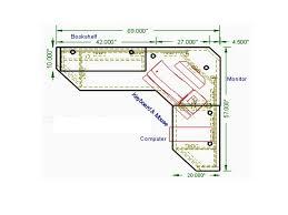 Simple L Shaped Desk Plans