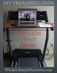 how to build a treadmill desk for under 20