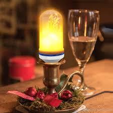 Led Vlam Effect Gloeilamp E27 Flickering Flame 10 W Lampjes Verlichting Voor Decoratie Party House Kerst