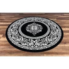 round rug black and white gad black white indoor outdoor round rug ikea striped rug black