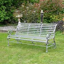 metal garden benches the british