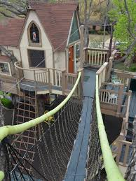 kids tree houses. Texas Couple Builds Elaborate Tree House Mansion For Grandkids Kids Houses