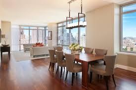 table pendant lighting brown laminated santos mahogany dining dining room light fixtures modern