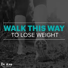 walking to lose weight dr axe