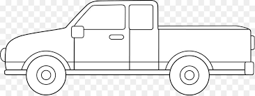 Car Pickup truck Line art Drawing Suzuki Equator - lorry png ...