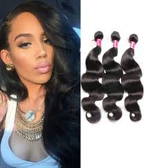 Black Weave Hairstyles 7 Amazing 24 Pcspack Brazilian Body Wave Hair Weave R Grade Chochair