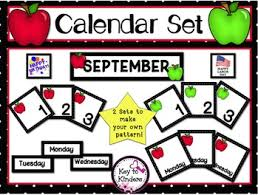 Calendar Pocket Chart Set The Best Of Teacher Entrepreneurs Iv Free Math Lesson
