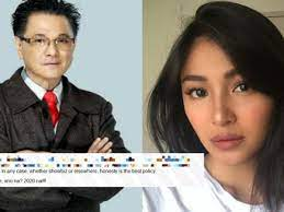 Ricky Lo Fires Back to Nadine Lustre ...