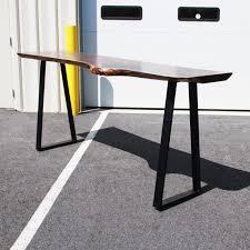 walnut pebbles live edge bar table live edge table in pa regarding custom bar table ideas