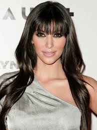 Hairstyles With Blunt Fringe Hairstyles For Long Dark Hair With Bangs Long Dark Hair Fringe