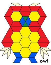 Pattern Blocks Cool Bonus Pattern Block Designs Jessica's Corner of Cyberspace