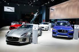 2018 jaguar line up. interesting jaguar 2018 jaguar lineup at the 2017 new york auto show intended jaguar line up n