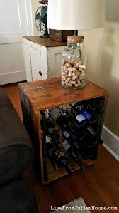wine rack table. Thrift Store Upcycle: Wine Rack End Table - Are You A Lover? Find