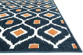 orange chevron rug 8x10 impressive area rugs amazing navy blue and orange area rug for with
