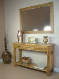 hallway table and mirror. Hallway Table / Mirror Combo And A