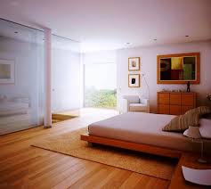 wood floor bedroom. Exellent Wood Airy White Bedroom With Wooden Floors Inside Wood Floor Rilane