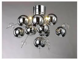 glass ball chandelier contemporary 6 light chrome glass ball chandelier round glass ball chandelier
