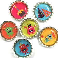 Decorated Bottle Caps 60 best Recycled Bottle Caps artcraftdesigns images on 29