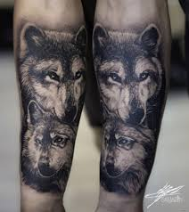 два волка на предплечье добавлено кирилл самарин