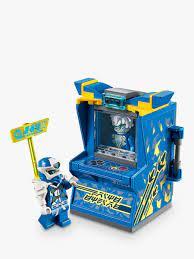 LEGO Ninjago 71715 Jay Avatar Arcade Pod   Lego ninjago, Retro arcade  machine, Lego