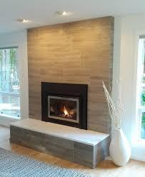 tile fireplace incredible modern brick fireplace porcelain tile clad solid surface slab on