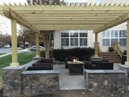 outdoor fire pit design installation