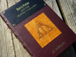 harry potter and the ly hollows leather book