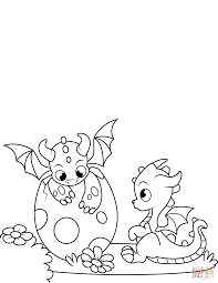 images of dragons to color. Unique Images Click The NewlyHatched Dragons Coloring Pages To View Printable Version Or  Color It Online Compatible With IPad And Android Tablets For Images Of To Color B