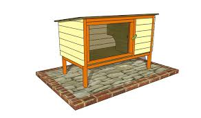 rabbit house plans. Outdoor Plans Presents Free Rabbit Hutch Plan House U