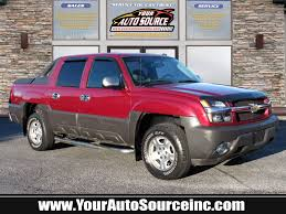 2004 Chevy Avalanche Service Airbag Light Is On Used 2004 Chevrolet Avalanche 1500 For Sale At Your Auto