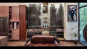 Glass Wine Room Design Modern Wine Cellar Featuring Cable Wine System Reach In Surrounding Glass Design