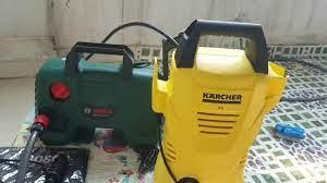 Máy rửa xe Bosch AQT 120 vs Karcher K2 chọn cái nào ? Which's one better ?  - YouTube