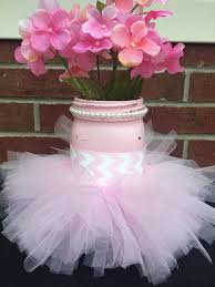 Decorating Mason Jars For Baby Shower Pink Tutu Mason Jar Craft For Baby Shower Pictures Photos and 52