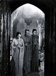 brides of dracula  dorothy tree geraldine dvorak and cornelia thaw as dracula s brides in dracula 1931