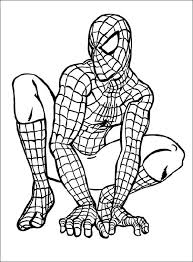 Showing 12 coloring pages related to black spider man. Spider Man Line Drawing For Little Boys Coloring Pages Avengers Coloring Pages Superhero Coloring Superhero Coloring Pages