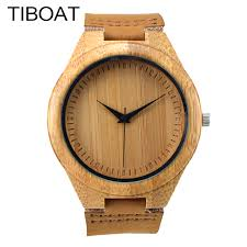 womens western watches promotion shop for promotional womens 2017 new top brand men s bamboo wooden bamboo watch unisex quartz real leather strap men watches women clock