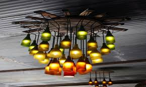 top 52 fabulous bottle chandelier design ideas recycle plastic image of decorative beach black bamboo bubble